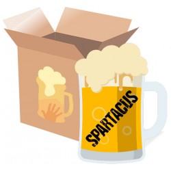Cervezas para ver Spartacus