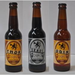 Pack Cervezas Lest  (Odin, Thor y Skadi)