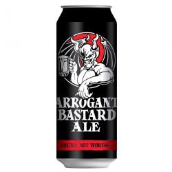 Stone Arrogant Bastard Ale (lata 50 cl.)