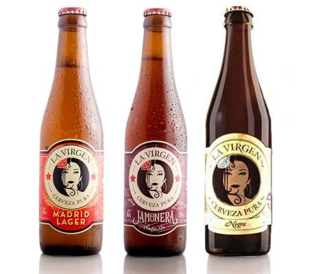 Pack Selección Cervezas La Virgen