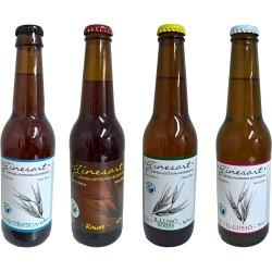 Pack degustación cervezas Ginesart