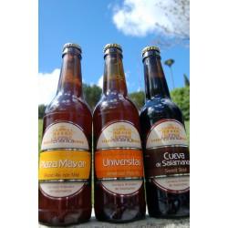 Pack Selección Cerveza Helmántica (12 Cerveza Plaza Mayor, 6 Univérsitas y 6 Cueva de Salamanca)