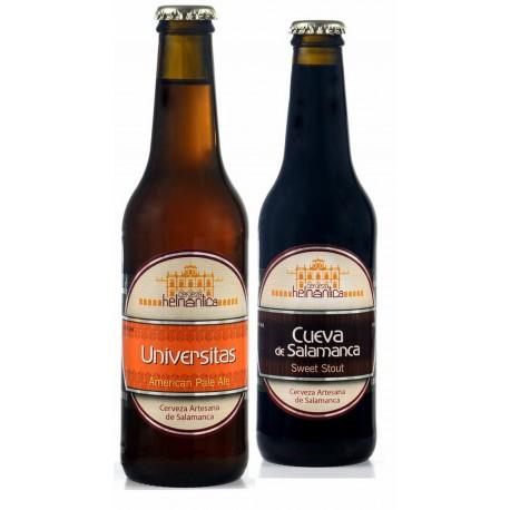 Pack Selección Tostada y Negra de Cerveza Helmántica