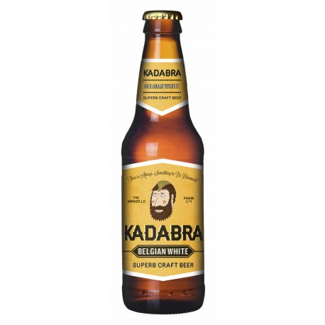 Cerveza Kadabra Belgian White