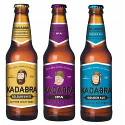 Pack degustación Cerveza Kadabra