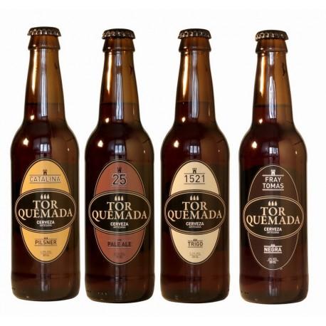 Pack degustación cervezas artesanas Torquemada