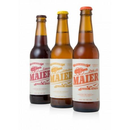 Pack selección cervezas Maier