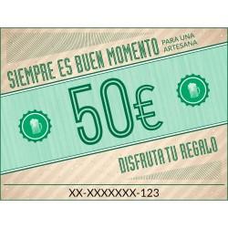 Tarjeta regalo 50€