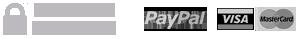 Pago seguro garantizado mediante PayPal y tarjeta de crédito